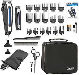 Wahl Deluxe Haircut Clippers with Trimmer and Storage Case