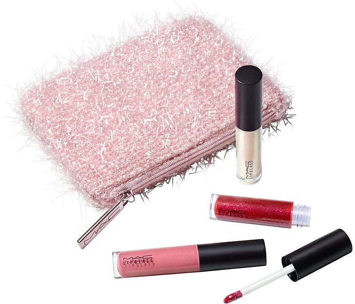 MAC Fireworked Travel Size Lipglass Set (USD $41 Value) | Nordstrom