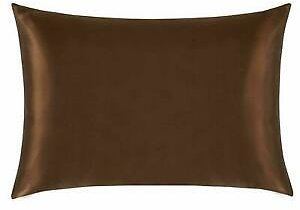 100% Mulberry Silk Pillowcase - Both Sides Silk - 2 Sizes Multiple Colors - Each