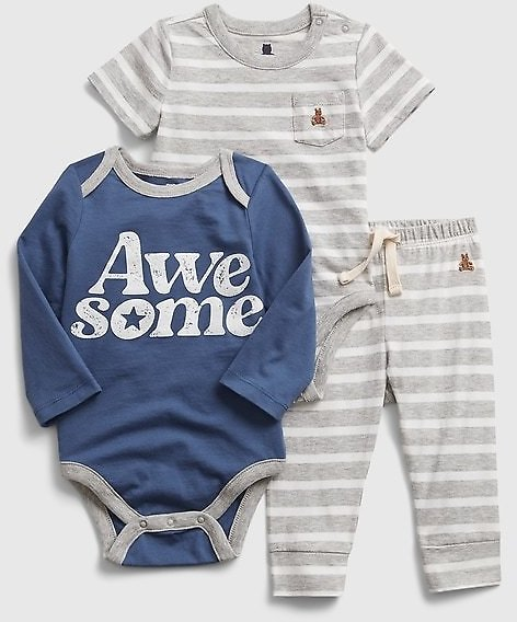 Baby Mix and Match 3-Piece Outfit Set
