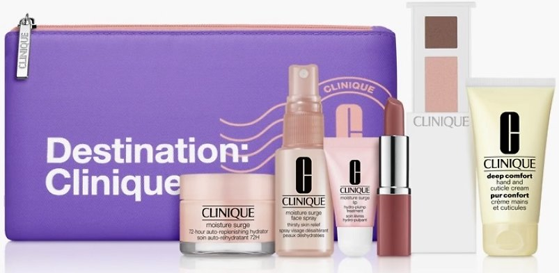 Free 7 Piece Staycation Kit with $45 Purchase