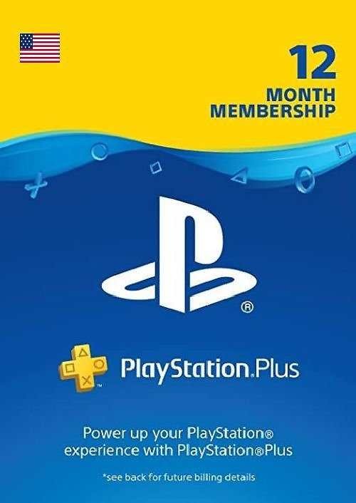 Playstation Plus 1-Year Membership