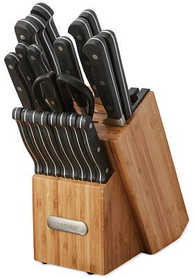 21-Pc. Farberware Forged Cutlery Set