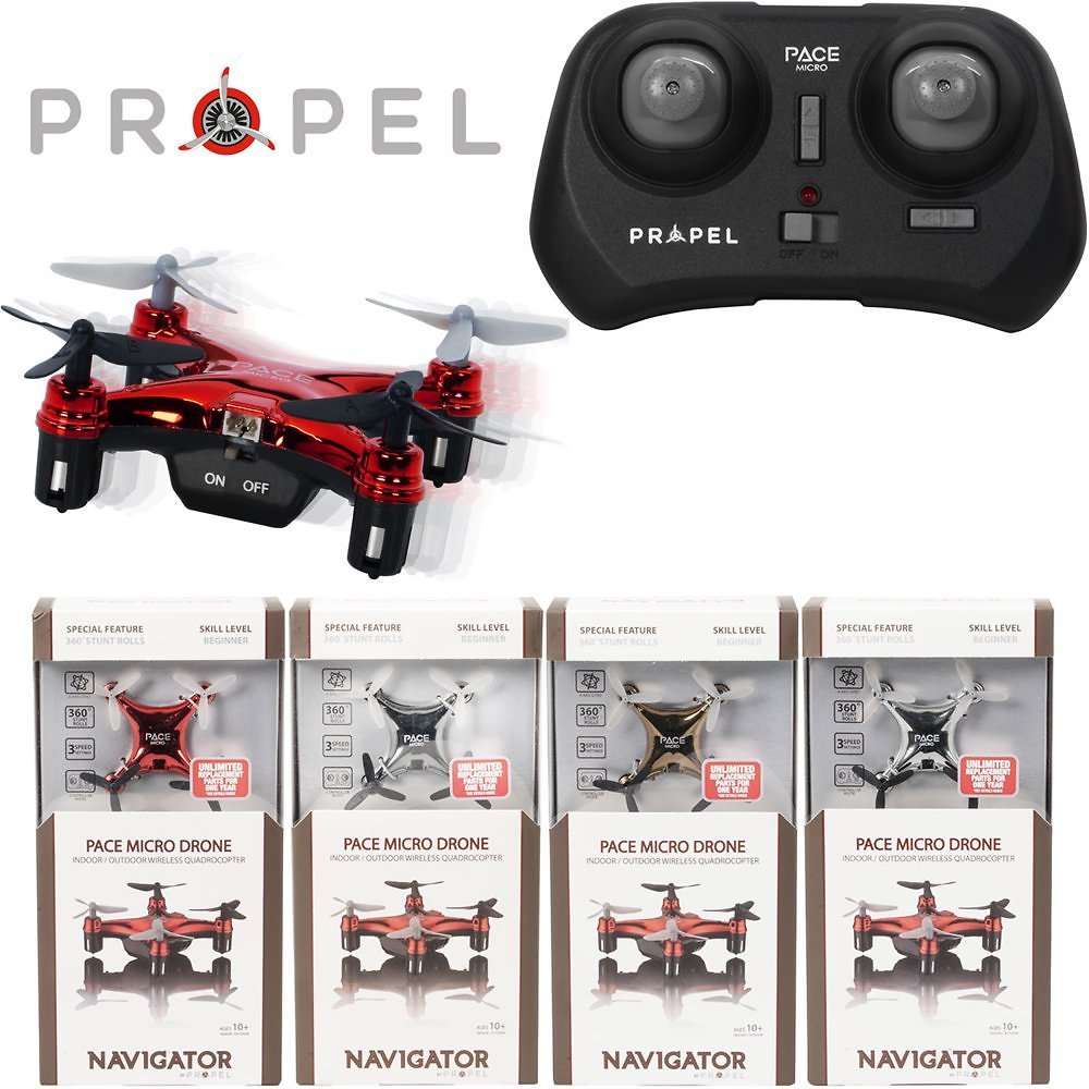 Propel Navigator Pace Micro Drone Wireless Quadcopter (Assorted Colors)