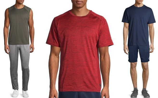 Up to 80% Off Men's Athletic Tees & Shorts