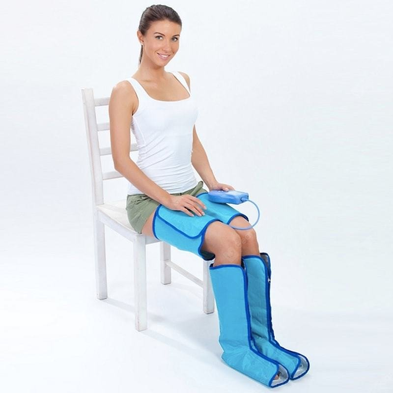 Air Leg Compression Massager for Foot and Thigh Circulation Leg Wraps