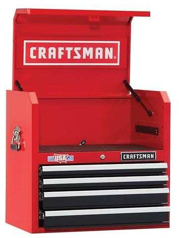 CRAFTSMAN 2000 Series 26-in 4-Drawer Tool Cabinet