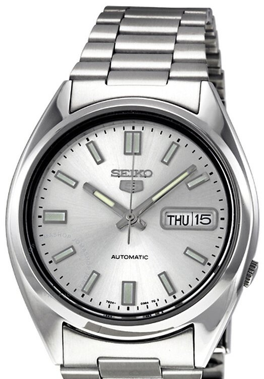 Seiko 5 Automatic Silver Dial Stainless Steel