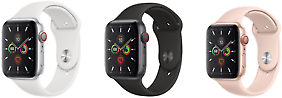 Apple Watch Series 5 (GPS + Cellular) 44mm Smartwatch