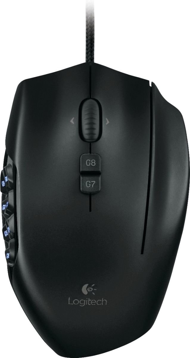 Logitech G600 MMO Wired Optical Gaming Mouse Black 910-002864