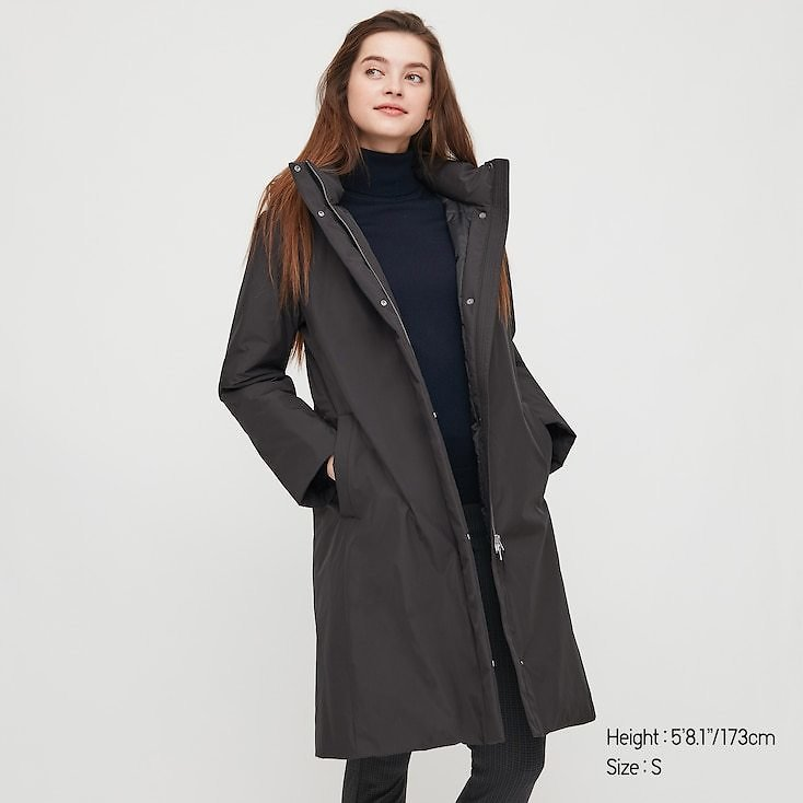 WOMEN HYBRID DOWN COAT