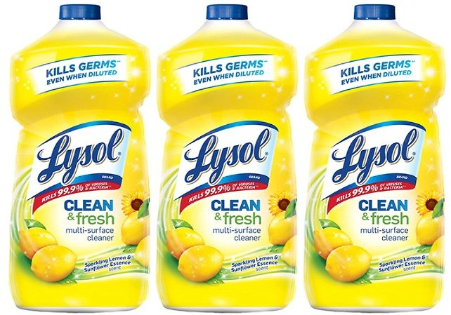 3-Pack Lysol Multi-Surface Cleaner