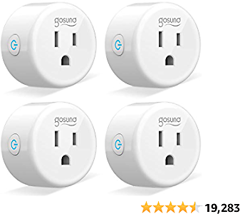 18% OFF Smart Plug Gosund Smart WiFi Outlet Works with Alexa and Google Home
