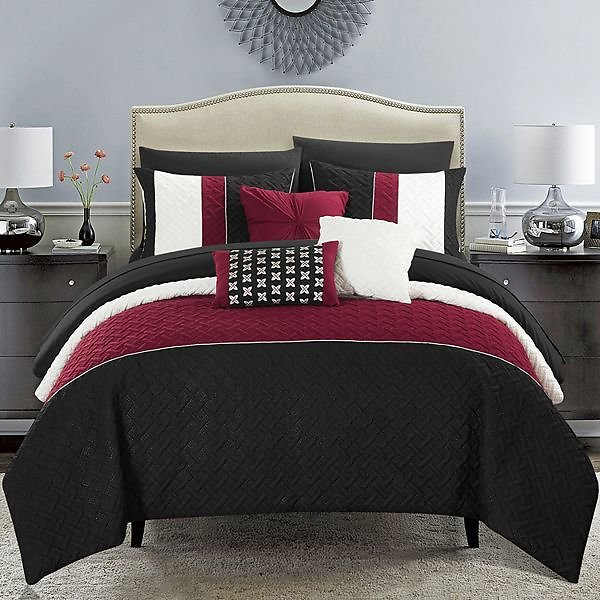 Chic Home Osnat 10-piece Bedding Set - Size King