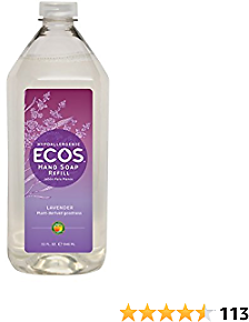 Earth Friendly Products Hand Soap Refill, Lavender, 32 Ounce