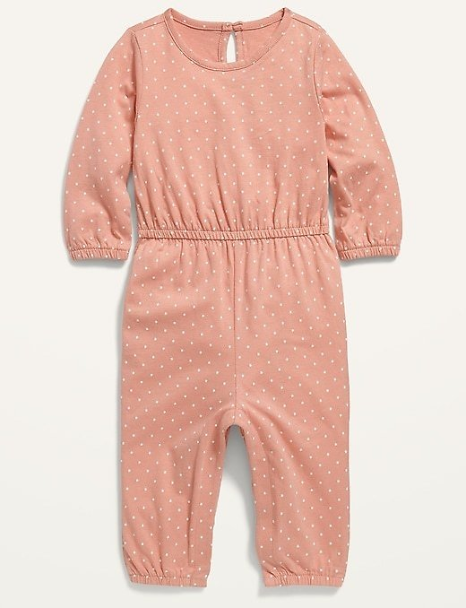 Printed Long-Sleeve Jumpsuit for Baby | Old Navy