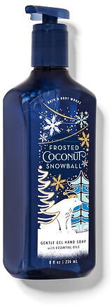 Frosted Coconut Snowball Gentle Gel Hand Soap
