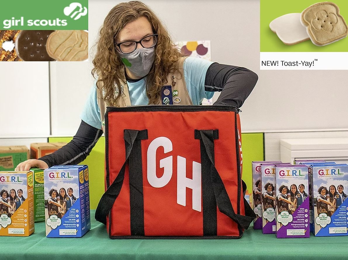 Girl Scout Cookie Season Kicks Off with a New Cookie and Delivery on Grubhub