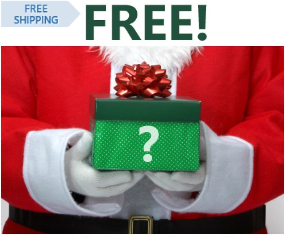 Free - Random Gift with Christmas Wish List!