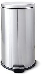 Easy Home 10.5 Gallon Stainless Steel Trash Can