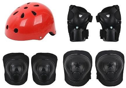 Protective Gear Safety Pads Set Helmet for Kids
