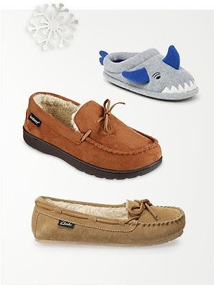 Slippers for The Family! from $4.80