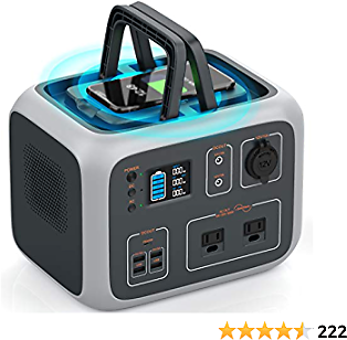 Save $70 Off Portable Power Station 500Wh with Regulated Voltage