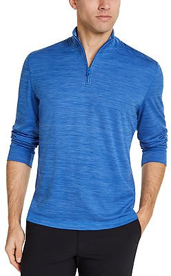 Club Room Men's Quarter-Zip Tech Sweatshirt