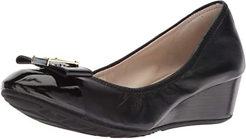 Cole Haan Women's Emory Bow Wedge Pump Shoes
