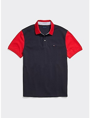 Custom Fit Flag Stars Polo