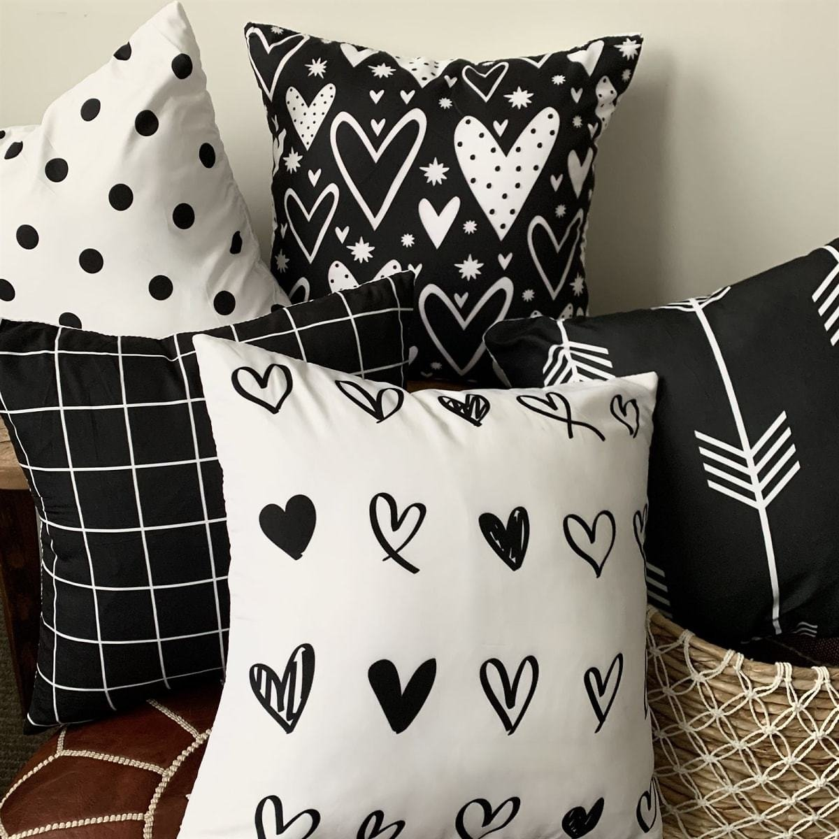 Valentine Throw Pillow Covers