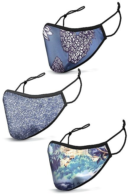 60% Off Sale Styles At Checkout/ Face Mask 3-Pack − Prints | Banana Republic
