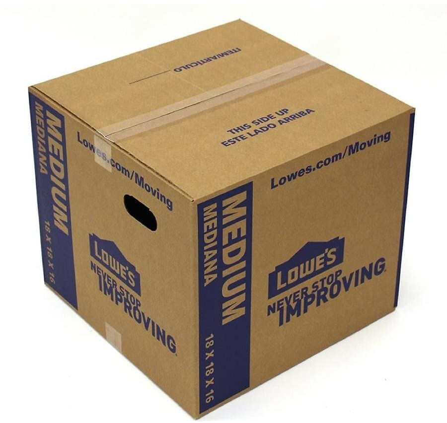 Moving Boxes & Supplies Starting 98¢
