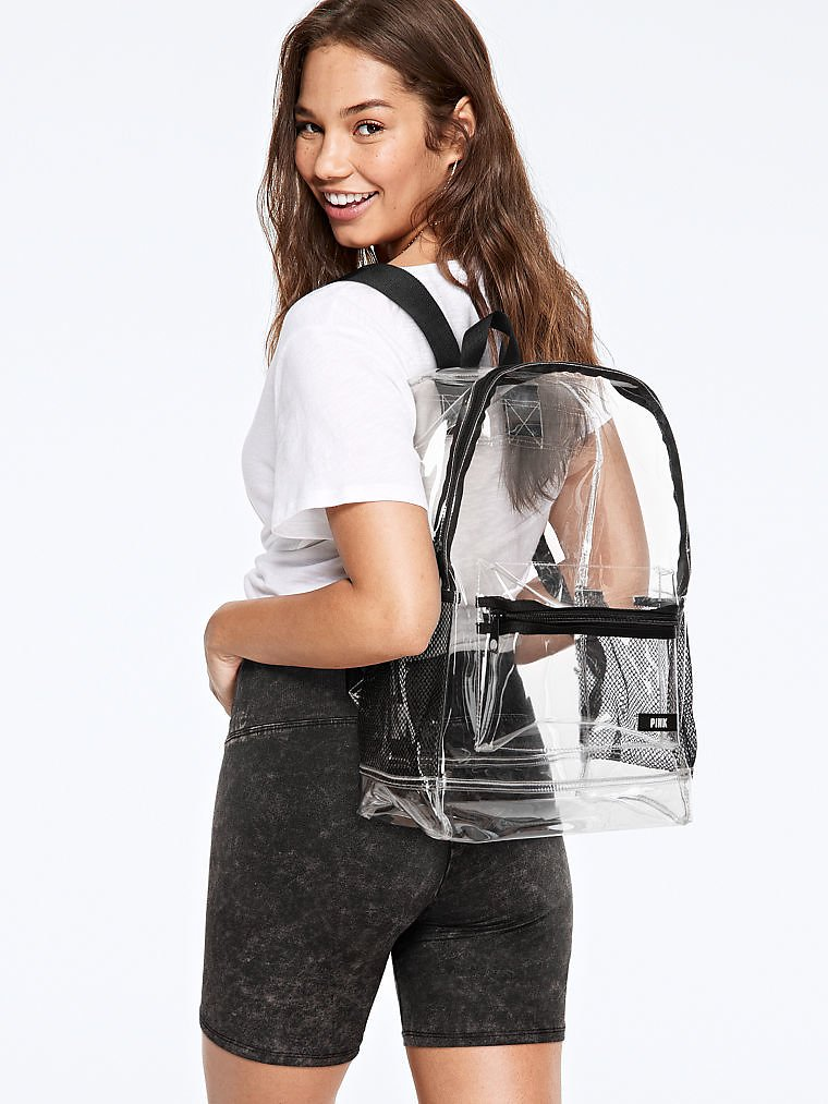 Victoria's Secret PINK Clear Backpack (2 Colors)