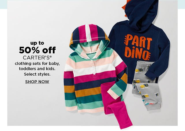 Up To 50% Off Carter's Clothing Sets For Baby, Toddlers & Kids - Kohls