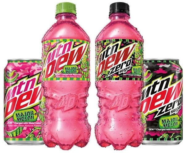 Free Mountain Dew Melon (In-Store)