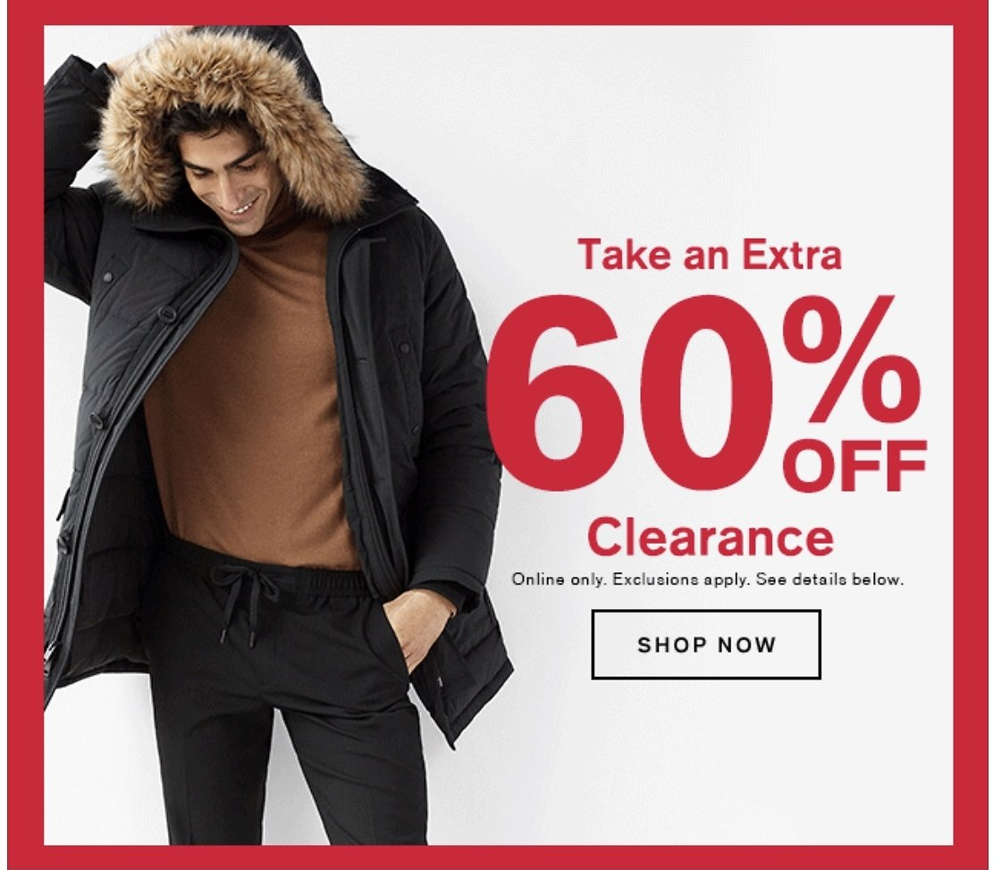 Extra 60% Off Clearance - Express