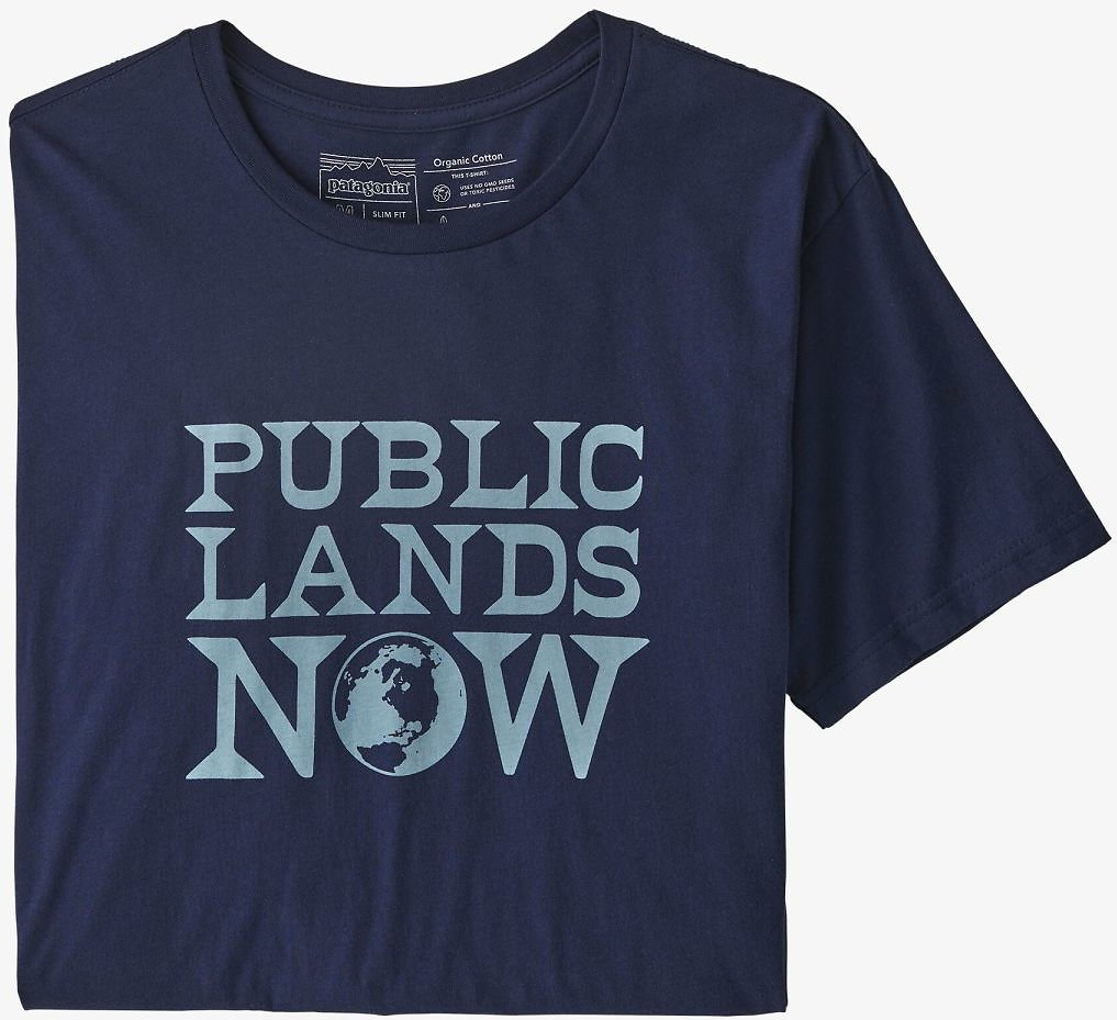 Men's Public Lands Now Organic Cotton T-Shirt
