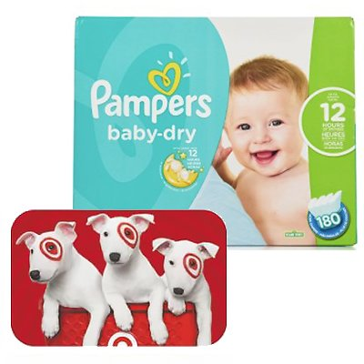 Free $15 Target GC w/ 2 Diapers Pack Purchase