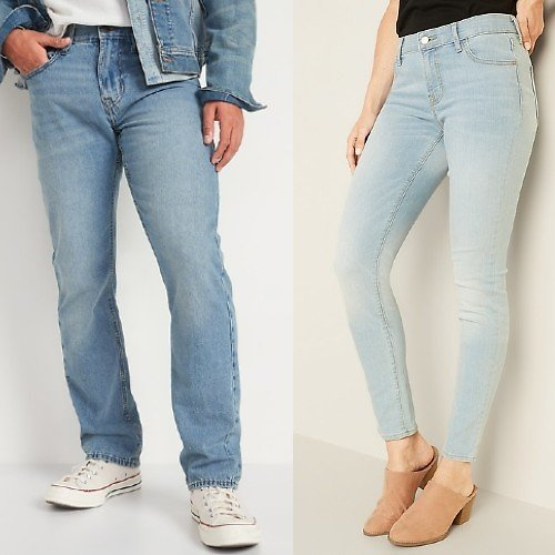 $12 Adult Jeans (Multiple Styles)
