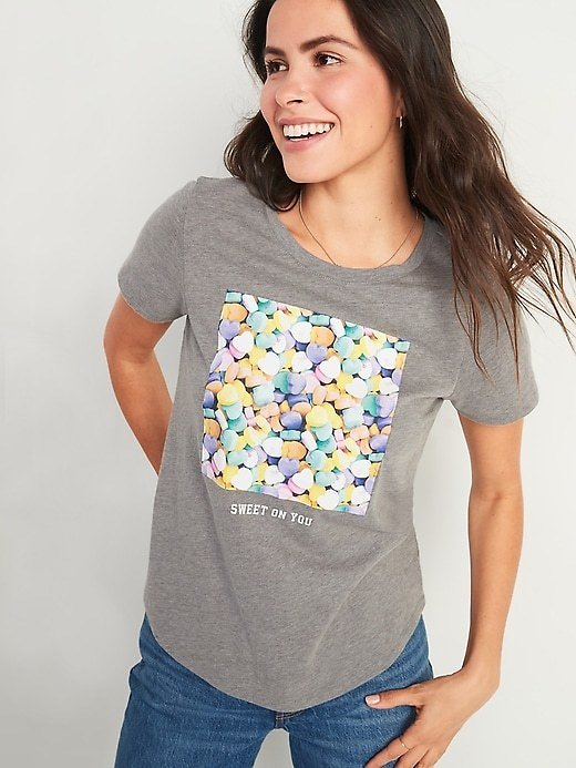 EveryWear Holiday Graphic Tee for Women | Old Navy
