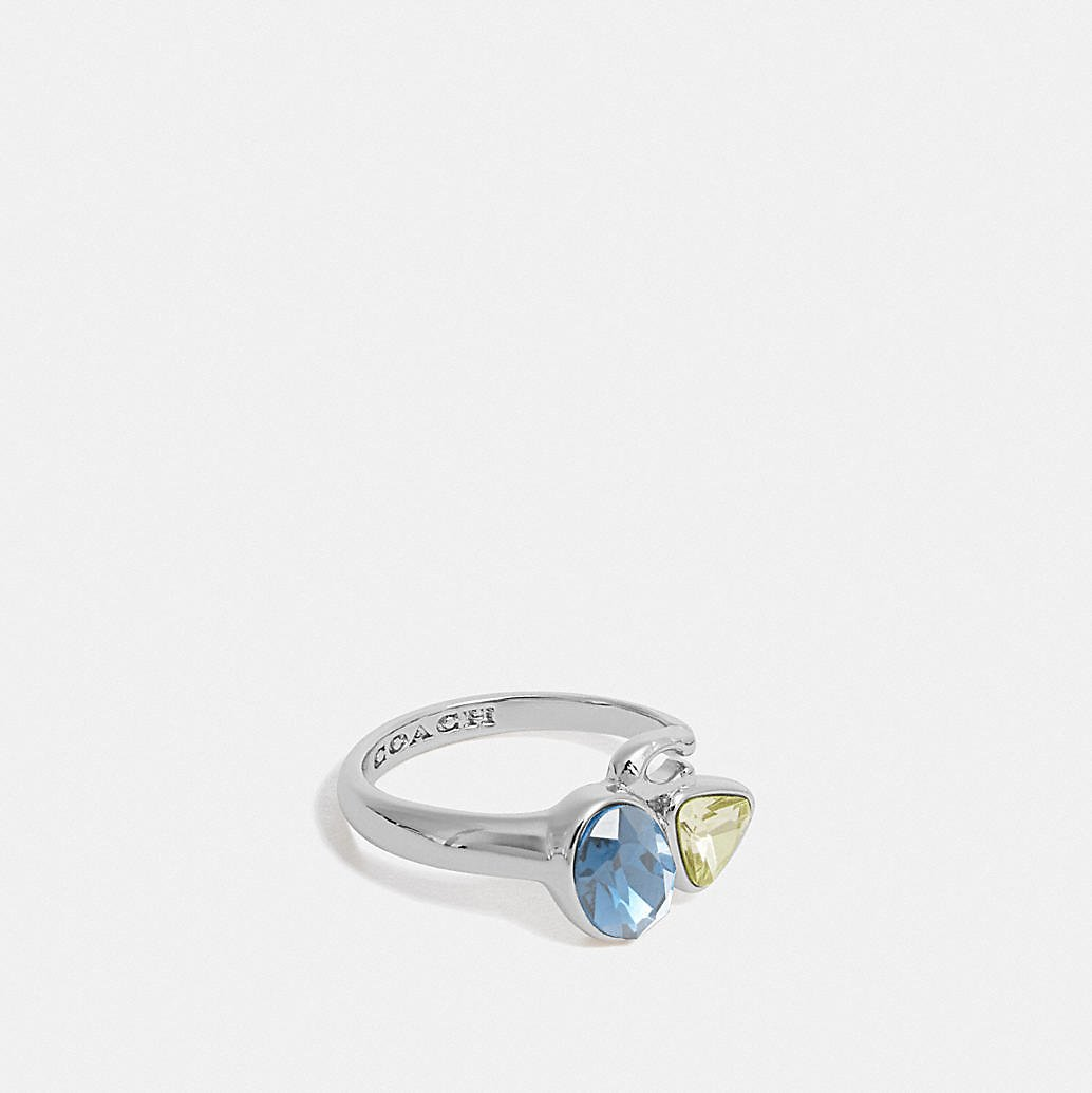 Signature Crystal Cluster Ring