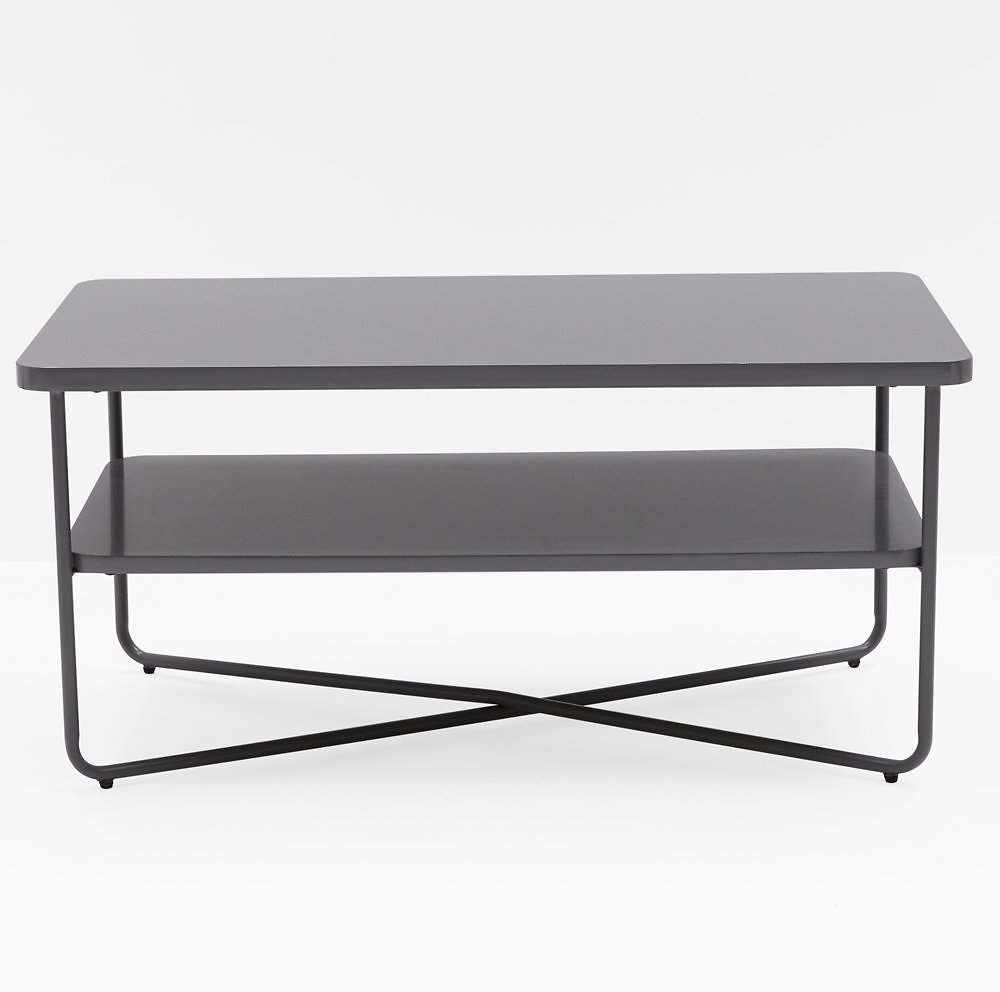 MoDRN Scandinavian Soren Metal Base Coffee Table