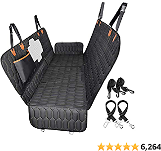 15% OFF 4-in-1 Dog Car Seat Cover OKMEE Convertible Dog Hammock Scratchproof Pet Car Seat Cover