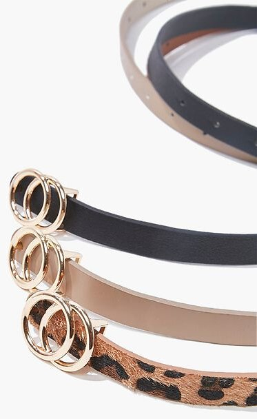 Skinny Waist Belt Set 60% Off