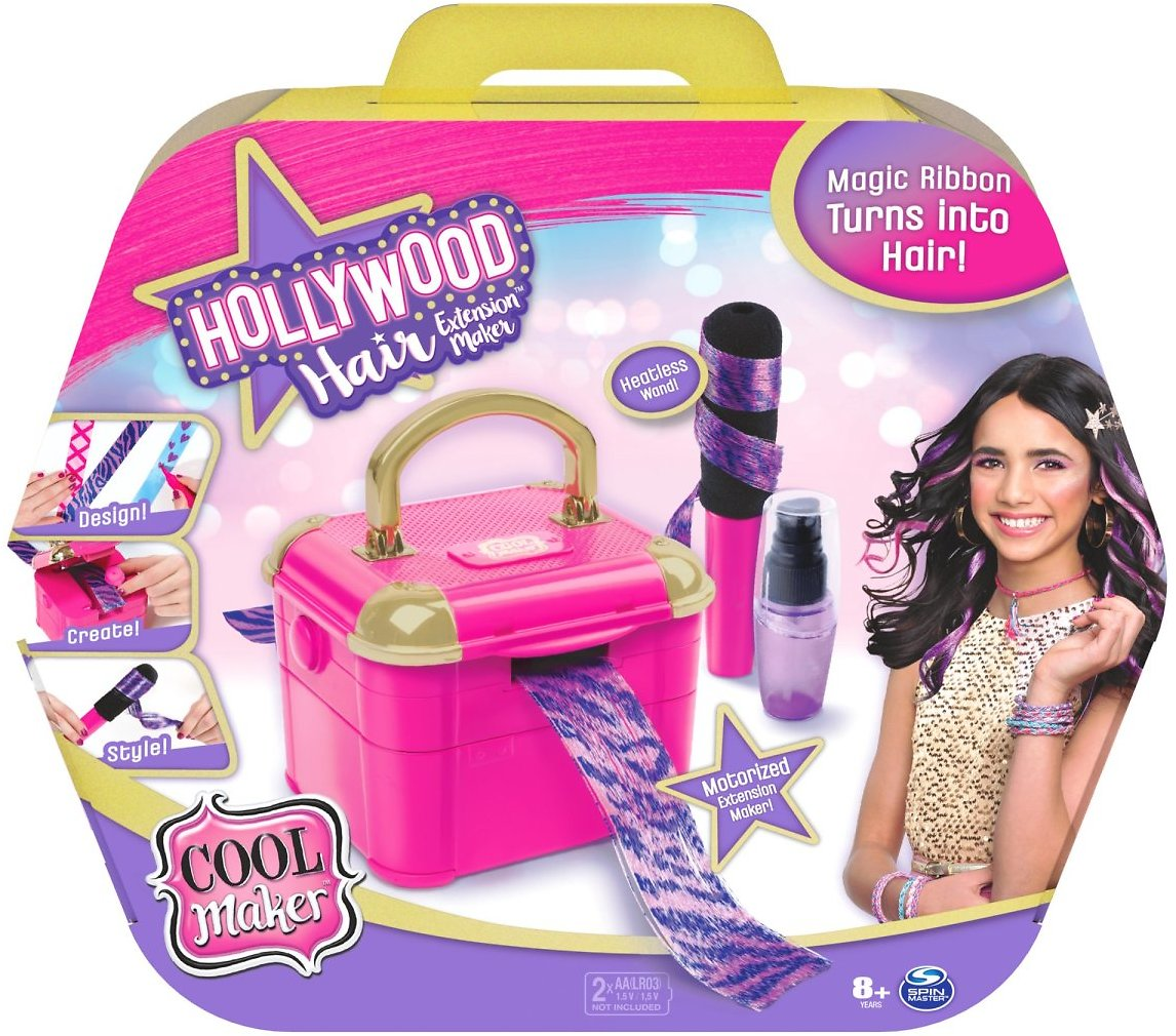 Cool Maker, Hollywood Hair Extension Maker with 12 Customizable Extensions and Accessories