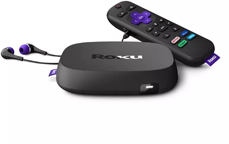 Roku Ultra 4K/HDR/Dolby Vision Streaming Media Player with Dolby Atmos, Bluetooth and Voice Remote with Headphone Jack and Personal Shortcuts (2020)