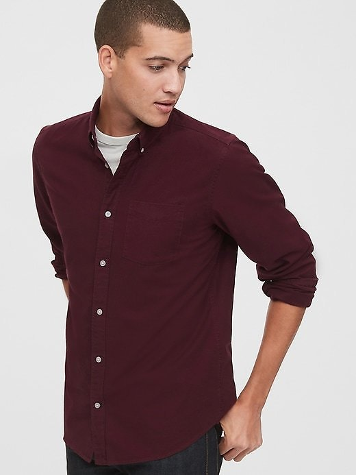 Oxford Shirt in Standard Fit | Gap