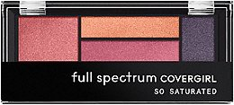 Full Spectrum So Saturated Quad Palette