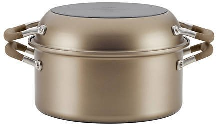 Anolon Advanced Home Hard-Anodized Nonstick Two Step Meal Set, Bronze